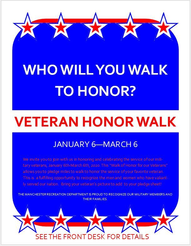 Walk for veterans pic of flyer